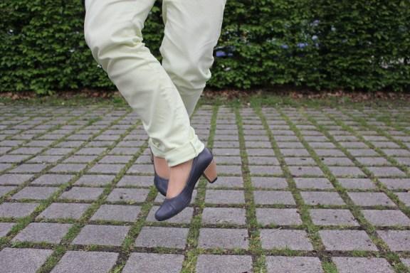 Schuhe blau-grau Tamaris