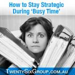 [TA53] Achieving Strategic Mindset Shift in busy time Part 1