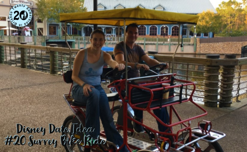 Disney Date Idea #20 Surrey Bike Ride • Twenty Something In Orlando