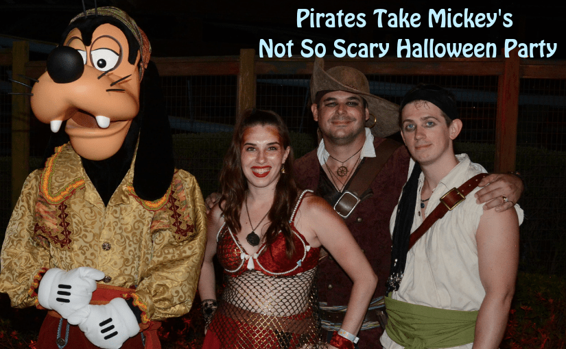 Pirates Take Mickeys Not So Scary Halloween Party