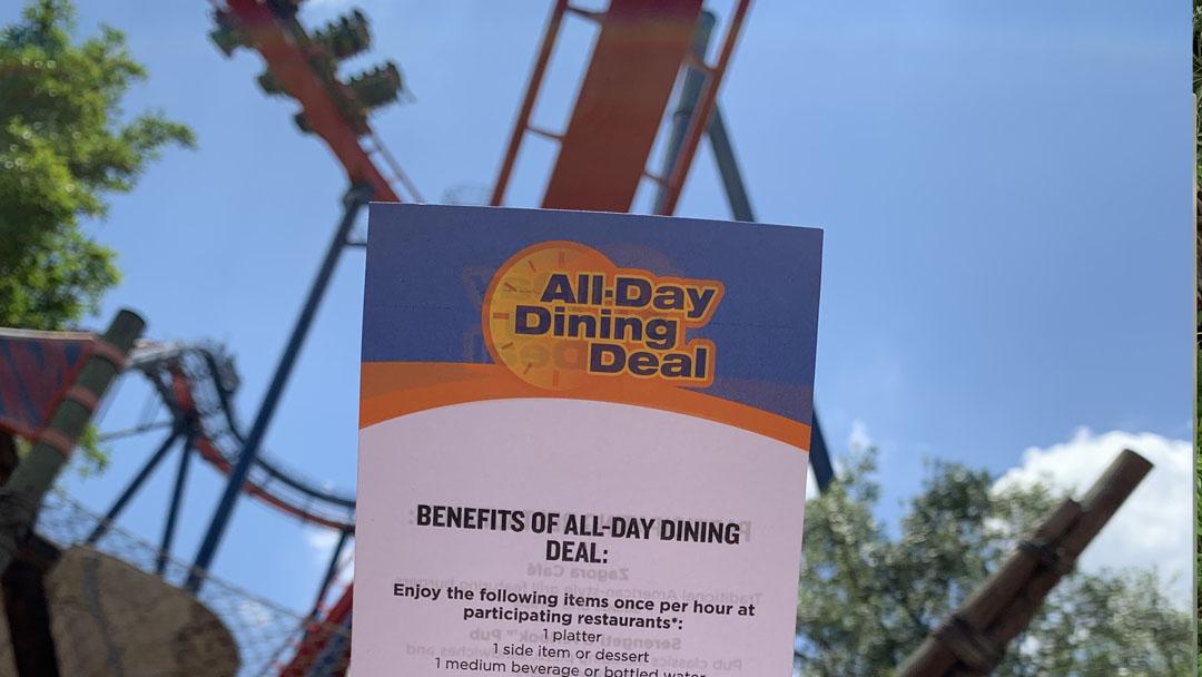 Busch Gardens All Day Dining Twenty Something In Orlando