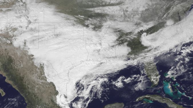 Record-Setting Winter Storm Cuts Off Power Supply In Texas