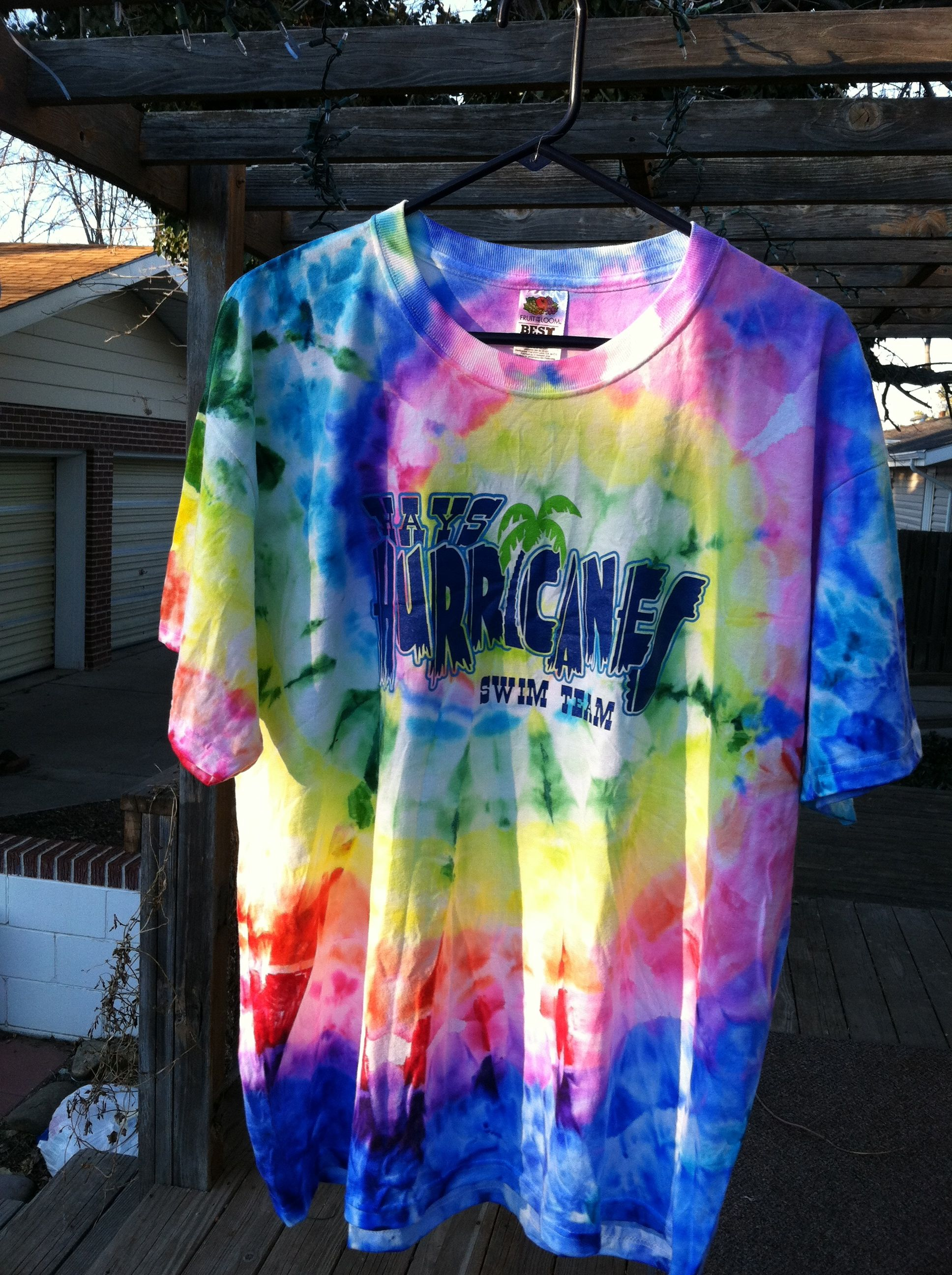 2365 Tie Dye T Shirts With Sharpies My 2012 In Pictures