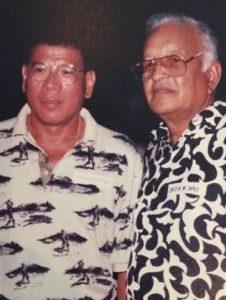 Duterte and HM Shah