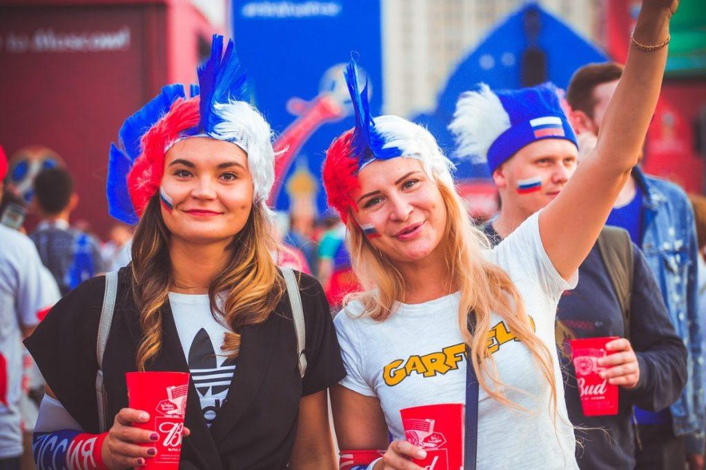 Russian football fans