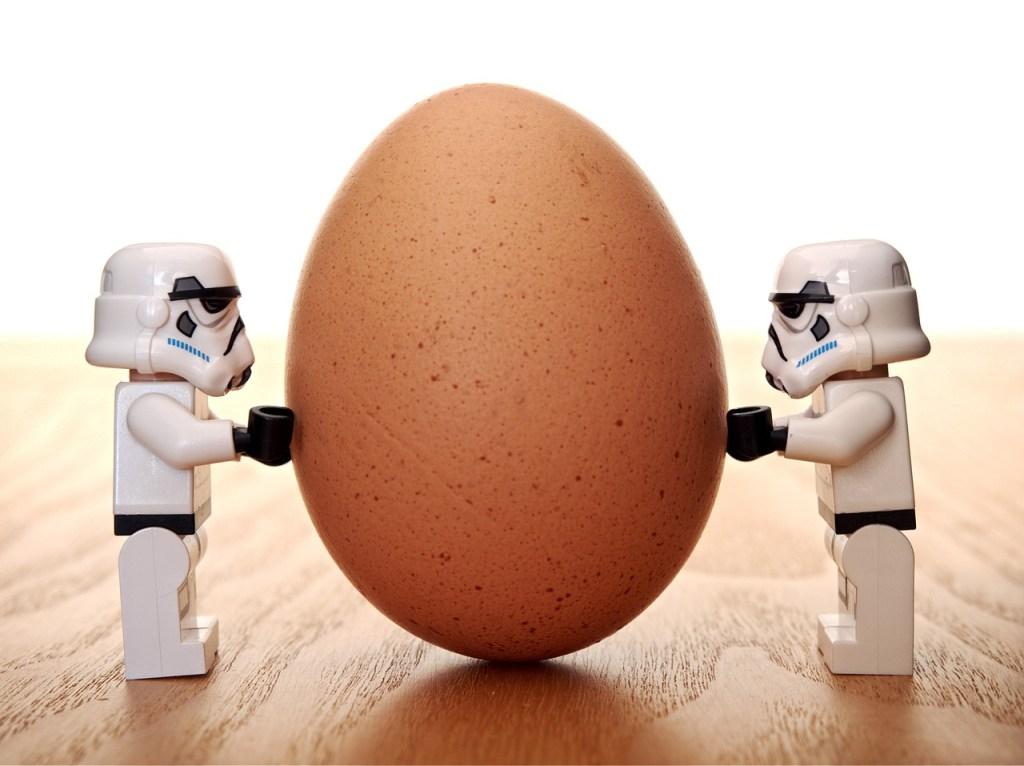 Stormtrooper egg