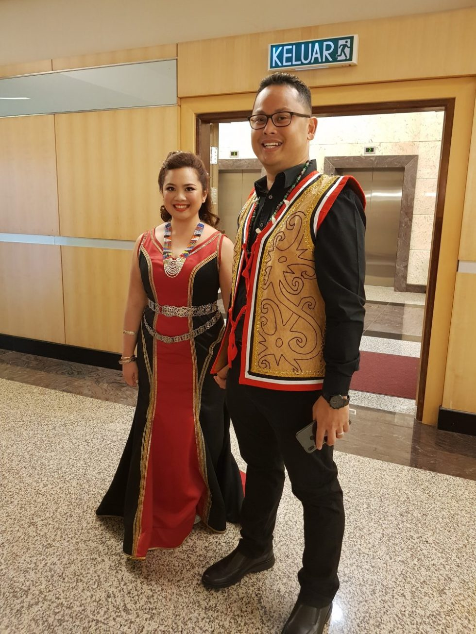 Sonia Soen and Timothy Marimuthu