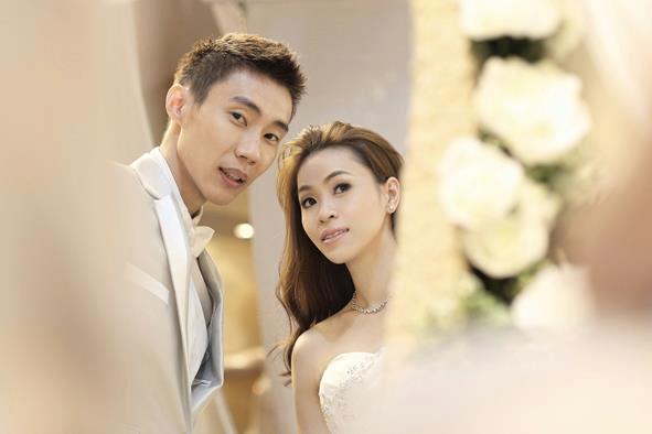Lee Chong Wei and Wong Mew Choo