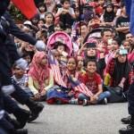 Malaysians at parade