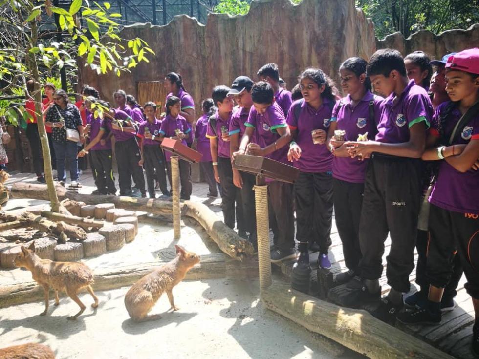 Children at Lost World of Tambun