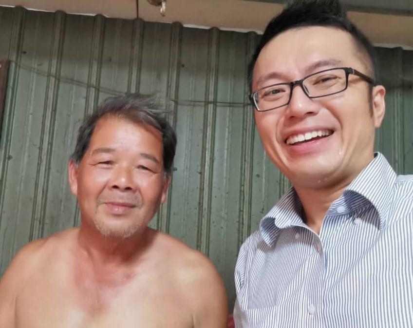 Grayson Cheng and Chen Wen Yu