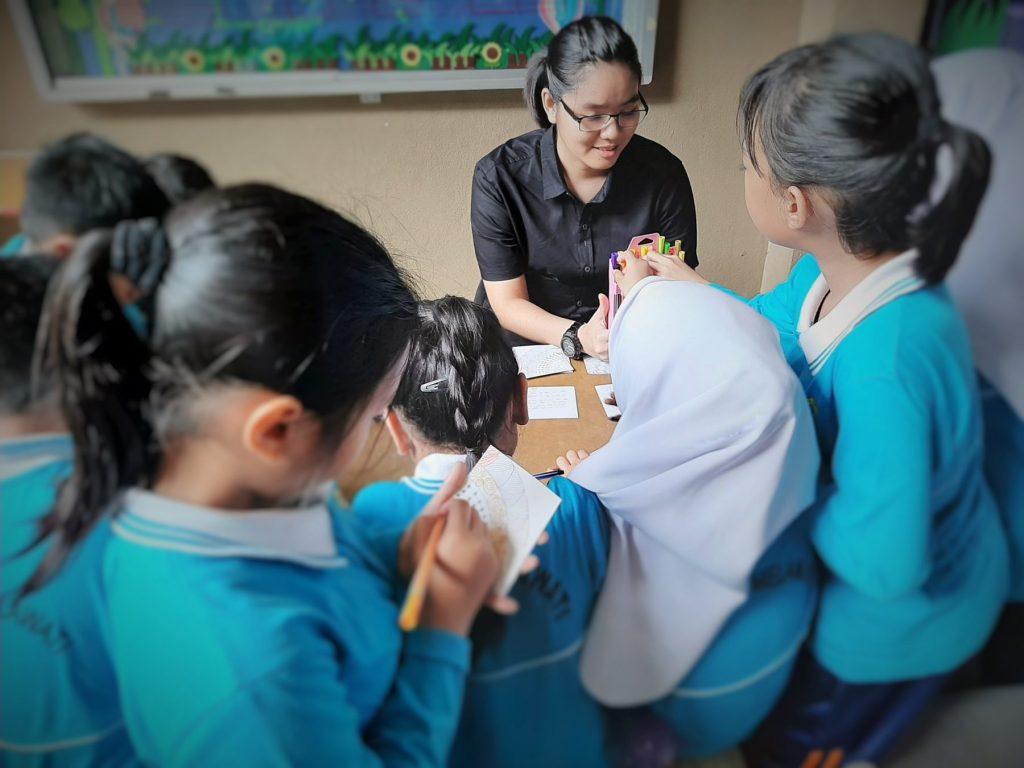 School children Malaysia