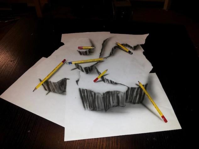 3D Pencil Sketches - 03