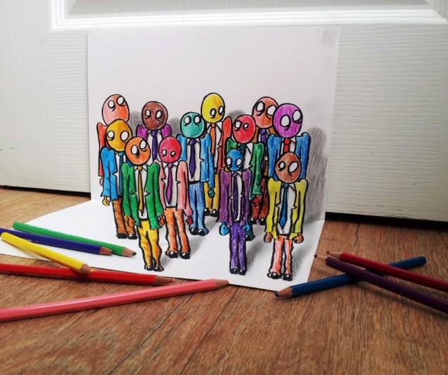 3D Pencil Sketches - 10