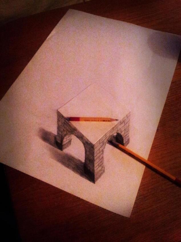 3D Pencil Sketches - 11
