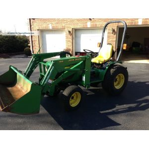 dazzling john deere 4100 tractor 3 attachments only 83 hours 1 lgw john  deere 4100 parts