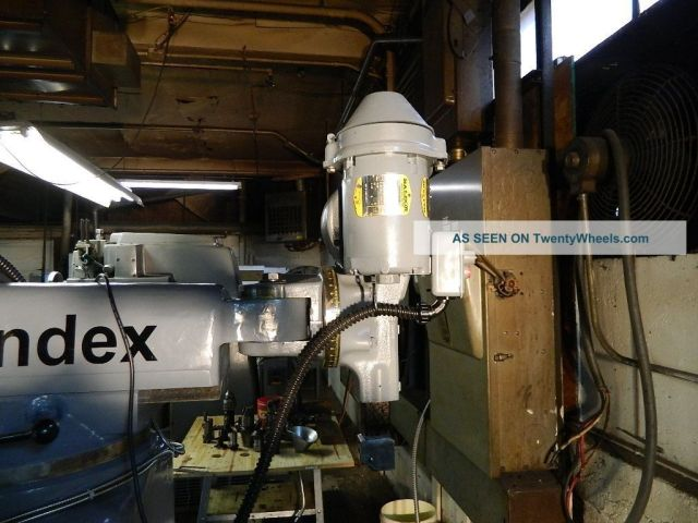 Wells Index Model 837 Mill With Shaper Head Milling Machines photo 3