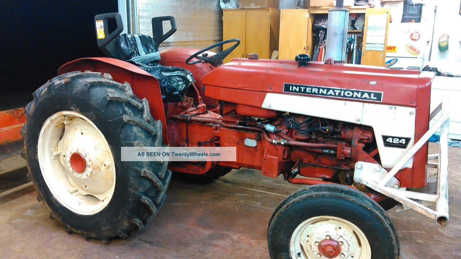 International 244 Tractor Diagram : International tractor wiring diagram