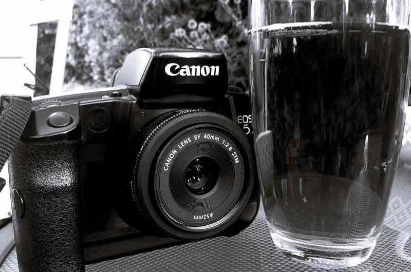 Camera and Beer