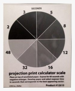 Print Projection Calculator Scale