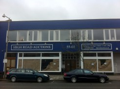 Closed for a refurb? - High Road Auctions