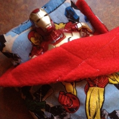 How to Make an Action Figure Sleeping Bag