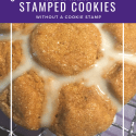 Stamped cookies without a stamp