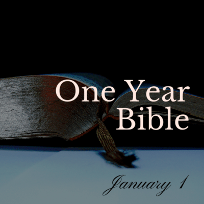 One Year Bible: January 1