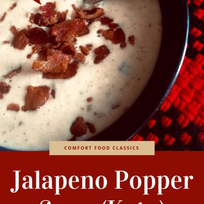 Jalapeño Popper Soup (Keto)