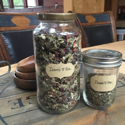 Herbal tea for heart health