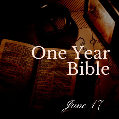 One Year Bible: June 17