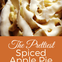 Spiced Caramel Apple Pie ... and a Story