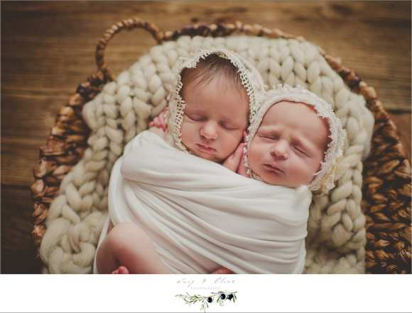 twins, bundled, angelic, Madison, WI