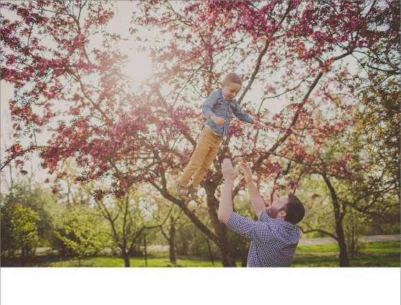tree blossoms, olbrich gardens, dads and children, outdoor family sessions