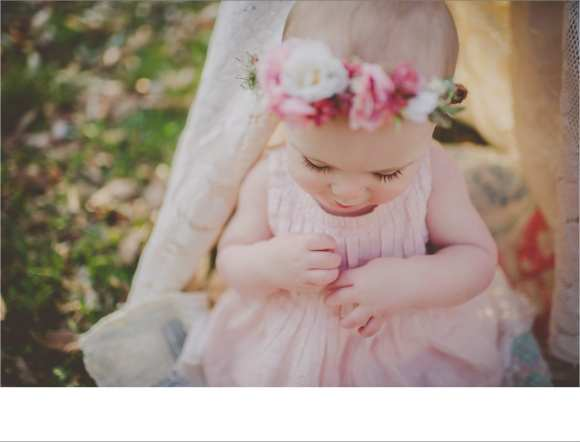 one year old session, madison sessions, outdoor sessions, hair flowers