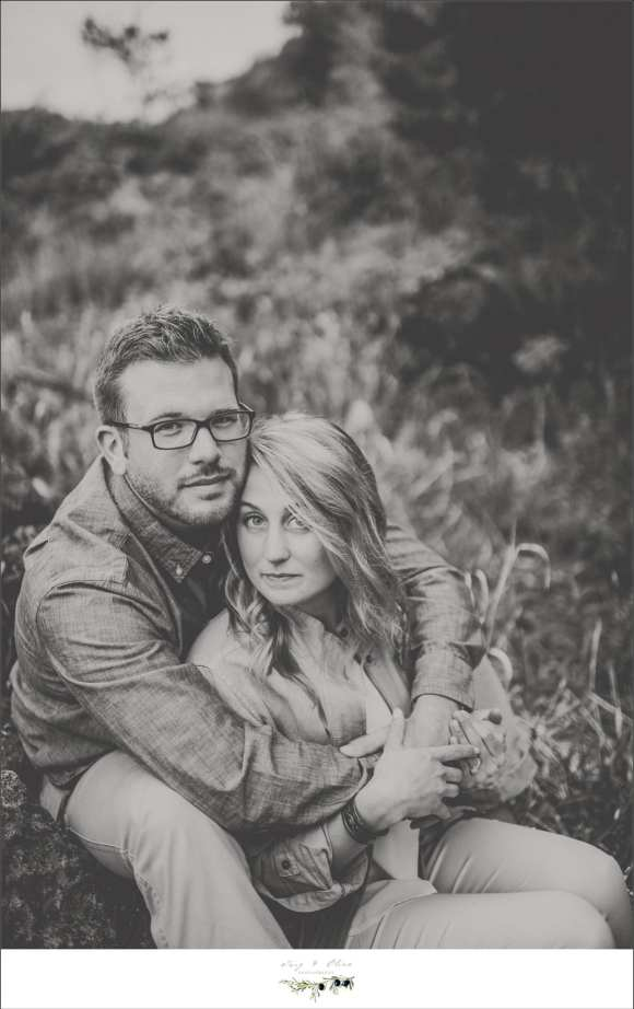 black and white photography engagement sessions, hold each other close, memories, stop time, sunset natural light photography, Twig and Olive