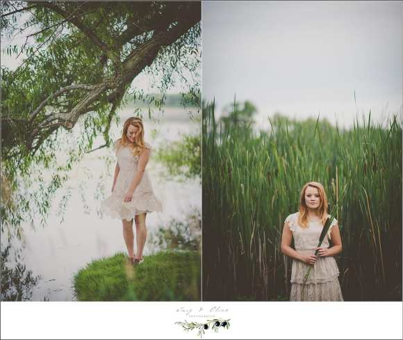 lake winner senior photography session