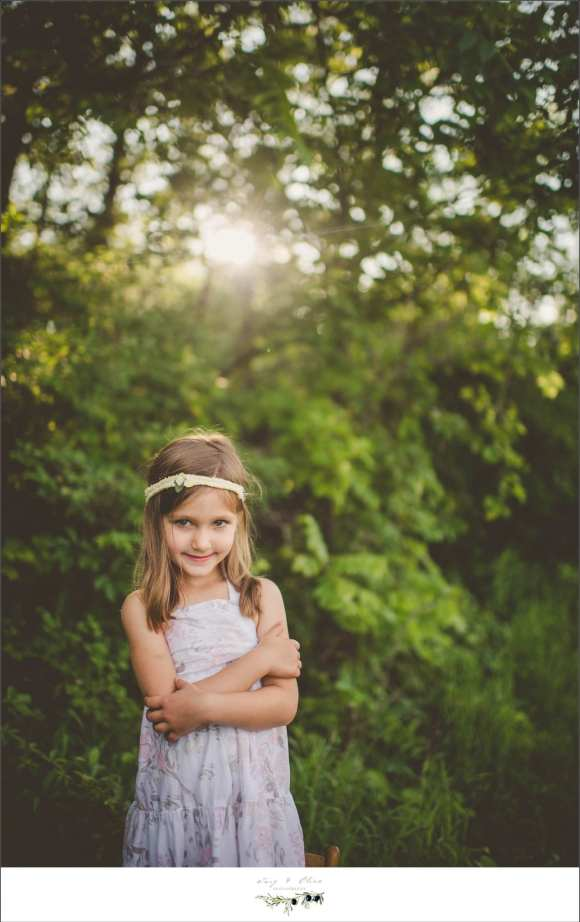 big sister, watchful eye, hair flowers, greenery, rustic, outdoor, Twig and Olive family sessions