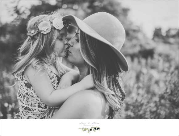 black and white images, princess flower crown, floppy hat, moms and daughters