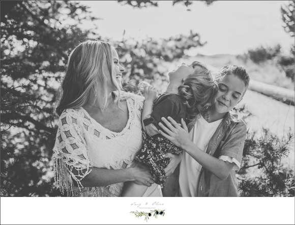 seattle family sessions, black and white photography