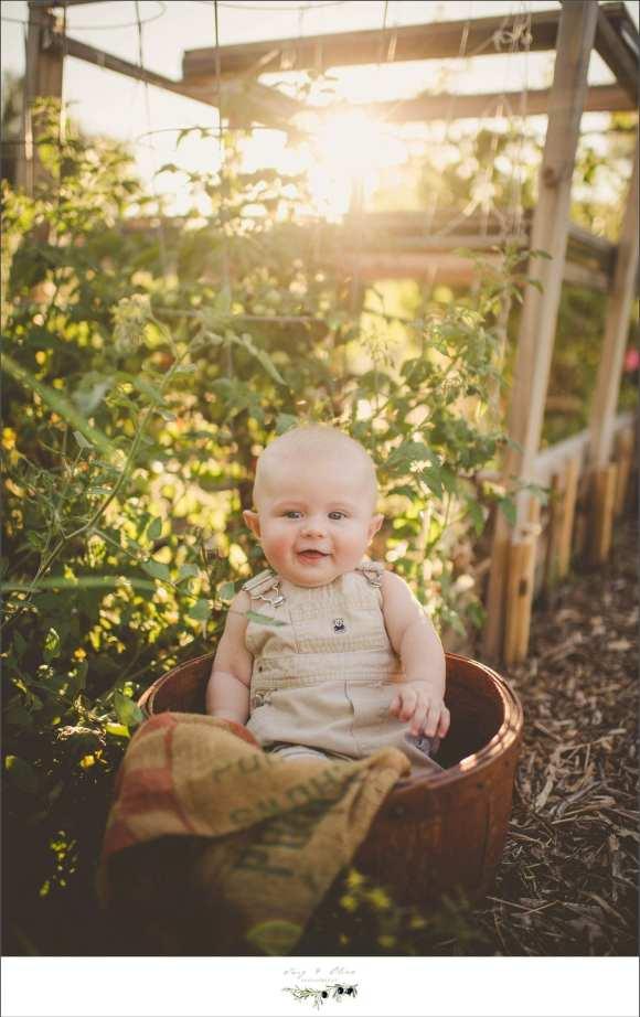 buckets, suspenders, little boy