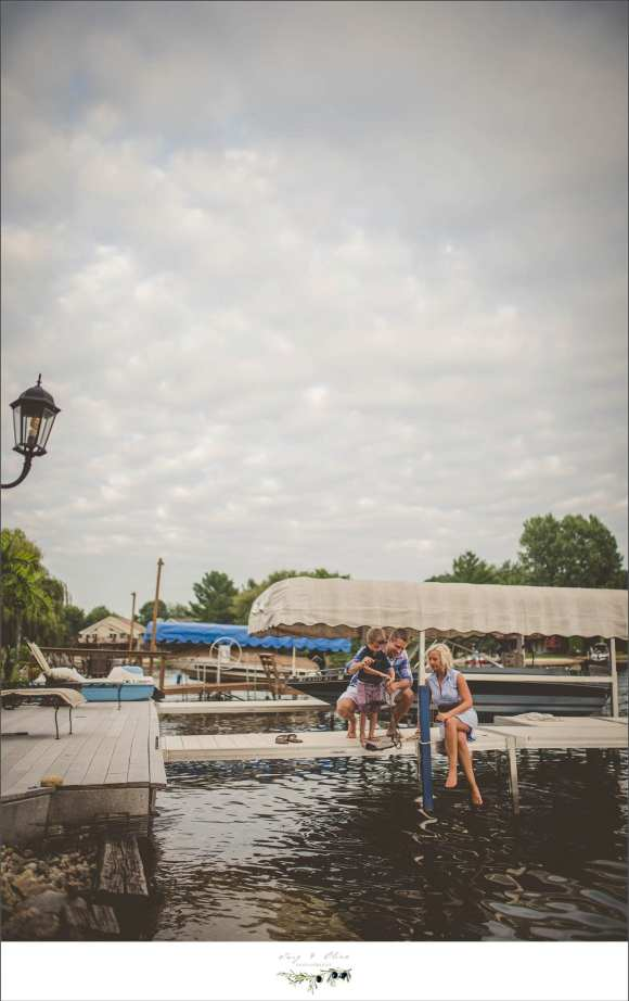 boat launch family session