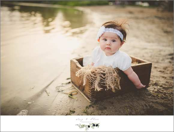 3 month old photography session