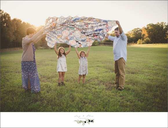 blanket parachute