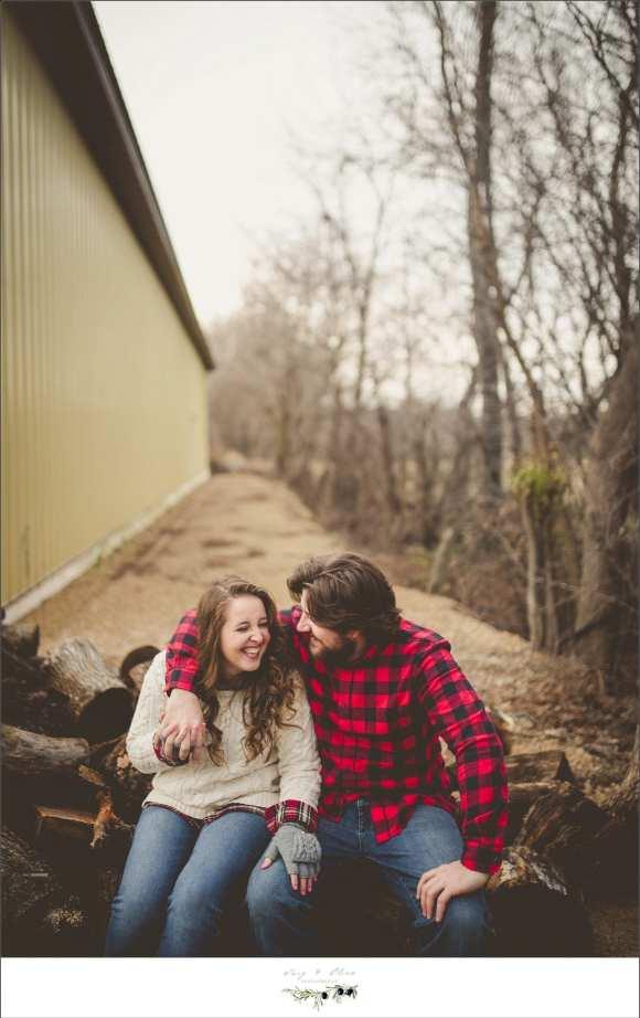 outdoorsy couple
