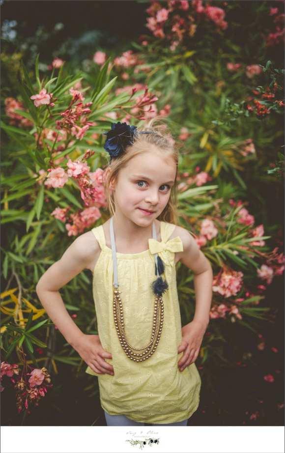 sassy yellow dress blue flower