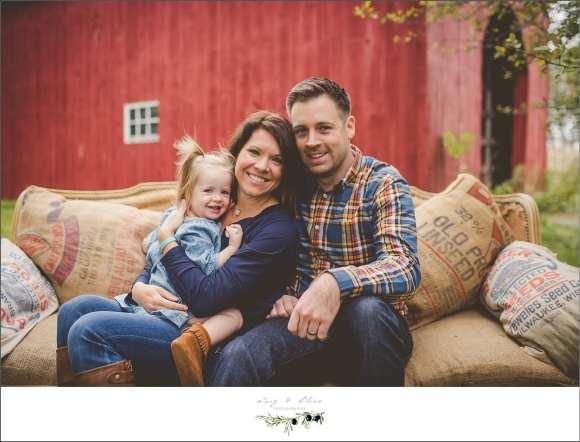 great photo, extremely photogenic family