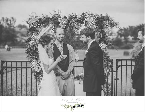 bridge wood wedding neenah