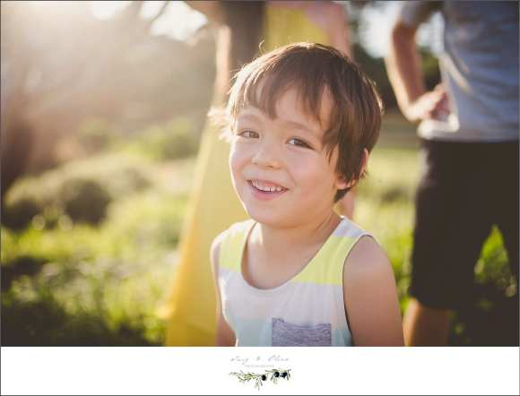 smiling kid