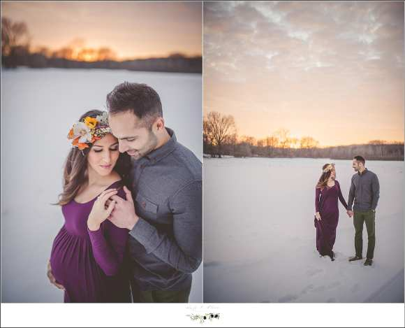 maternity session wi